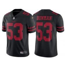 53 San Francisco 49ers Navorro Bowman Jerseys Team Color Home ...