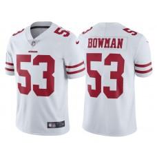 2017 San Francisco 49ers #53 NaVorro Bowman White Vapor Untouchable Limited Jersey