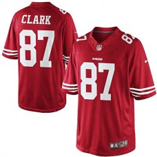 Dwight Clark Scarlet San Francisco 49ers #87 Retired Player Limited Jersey