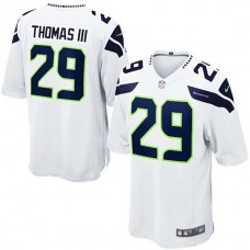 Youth Seattle Seahawks #29 Earl Thomas White Game Jersey