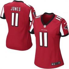 Youth Atlanta Falcons #11 Julio Jones Red Replica Game Jersey