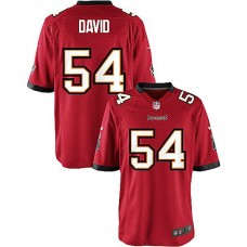 Youth Lavonte David Tampa Bay Buccaneers #54 Game Jersey - Red