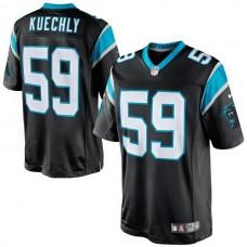 Carolina Panthers #59 Luke Kuechly Black Limited Jersey