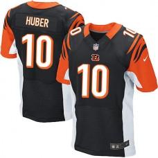 Cincinnati Bengals #10 Kevin Huber Elite Black Jersey