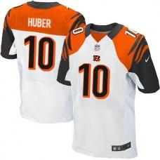 Cincinnati Bengals #10 Kevin Huber Elite White Jersey