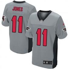 Atlanta Falcons #11 Julio Jones Limited Grey Shadow Jersey
