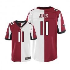 Atlanta Falcons #11 Julio Jones Limited Two Tone Team Road Jersey