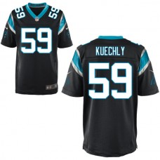 Carolina Panthers #59 Luke Kuechly Black Elite Jersey