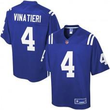 Pro Line Indianapolis Colts #4 Adam Vinatieri Team Color Jersey