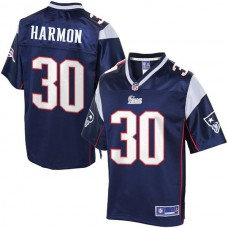 Pro Line New England Patriots #30 Duron Harmon Team Color Jersey