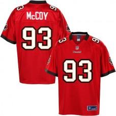 Pro Line Tampa Bay Buccaneers #93 Gerald McCoy Team Color Jersey