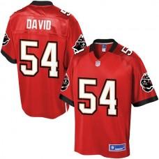 Pro Line Tampa Bay Buccaneers #54 Lavonte David Team Color Jersey