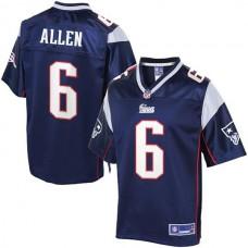 Pro Line New England Patriots #6 Ryan Allen Team Color Jersey