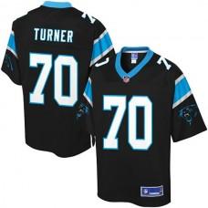 Pro Line Carolina Panthers #70 Trai Turner Team Color Jersey