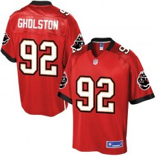 Pro Line Tampa Bay Buccaneers #92 William Gholston Team Color Jersey