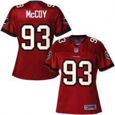 Women's Pro Line Tampa Bay Buccaneers #93 Gerald McCoy Team Color Jersey