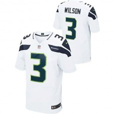 Seattle Seahawks #3 Russell Wilson White Limited Jersey
