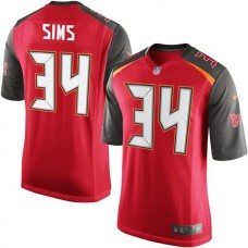 Youth Charles Sims Red Tampa Bay Game Jersey
