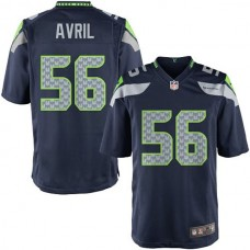 Youth Seattle Seahawks #56 Cliff Avril Team Color Game Jersey