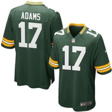 Youth Green Bay Packers #17 Davante Adams Team Color Game Jersey