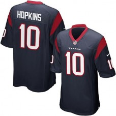 Youth Houston Texans #10 DeAndre Hopkins Team Color Game Jersey