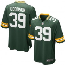 Youth Green Bay Packers #39 Demetri Goodson Team Color Game Jersey