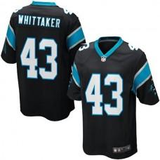 Youth Carolina Panthers #43 Fozzy Whittaker Team Color Game Jersey