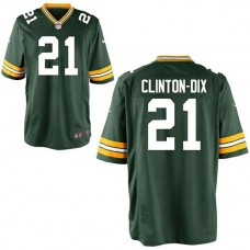 Youth Green Bay Packers #21 Ha Ha Clinton-Dix Green Team Color Game Jersey