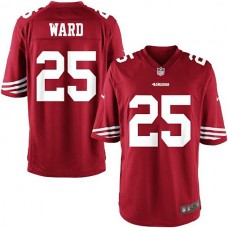Youth San Francisco 49ers #25 Jimmie Ward Team Color Game Jersey