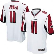 Youth Atlanta Falcons #11 Julio Jones White Game Jersey