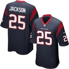 Youth Houston Texans #25 Kareem Jackson Team Color Game Jersey