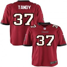 Youth Tampa Bay Buccaneers #37 Keith Tandy Team Color Game Jersey