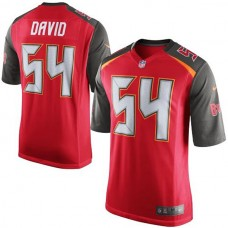 Youth Tampa Bay Buccaneers #54 Lavonte David Red Team Color Game Jersey