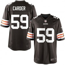Youth Cleveland Browns #59 Tank Carder Team Color Game Jersey
