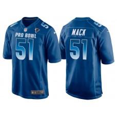 2018 Pro Bowl NFC Atlanta Falcons #51 Alex Mack Royal Game Jersey