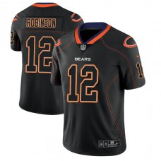 Chicago Bears #12 Allen Robinson 2018 Lights Out Color Rush Limited Black Jersey