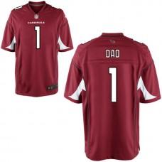 Arizona Cardinals Cardinal #1 Dad Jersey - Father's Day