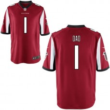 Atlanta Falcons Red #1 Dad Jersey - Father's Day