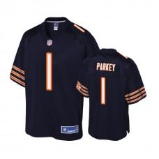 Chicago Bears #1 Cody Parkey Navy Player Pro Line Jersey