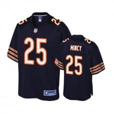Youth Chicago Bears #25 Jonathon Mincy Navy Player Pro Line Jersey