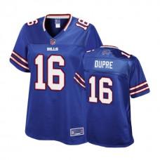Women's Buffalo Bills #16 Malachi Dupre Royal Player Pro Line Jersey