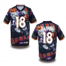 Denver Broncos #18 Peyton Manning Fanatical Fashion Jersey