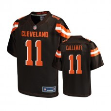 Youth Cleveland Browns #11 Antonio Callaway Brown Player Jersey