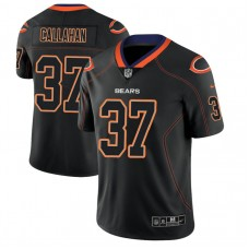 Chicago Bears #37 Bryce Callahan 2018 Lights Out Color Rush Limited Black Jersey