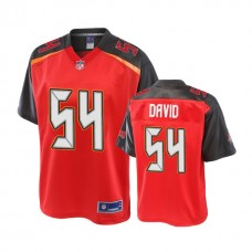 Youth Tampa Bay Buccaneers #54 Lavonte David Red Player Jersey