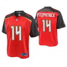 Youth Tampa Bay Buccaneers #14 Ryan Fitzpatrick Pro Line Red Jersey