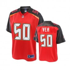 Youth Tampa Bay Buccaneers #50 Vita Vea Red Player Jersey