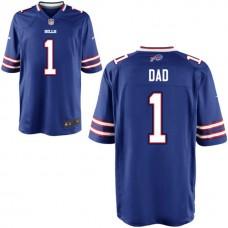 Buffalo Bills Royal #1 Dad Jersey - Father's Day