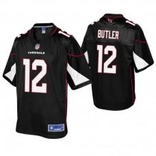 Youth Arizona Cardinals #12 Brice Butler Black Alternate Pro Line Jersey