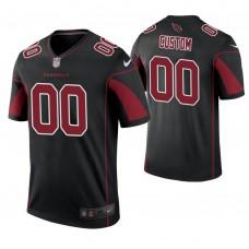 Arizona Cardinals Black Color Rush Legend Customized Jersey